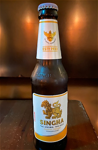 Foto Singha Beer (Thai) 35cl
